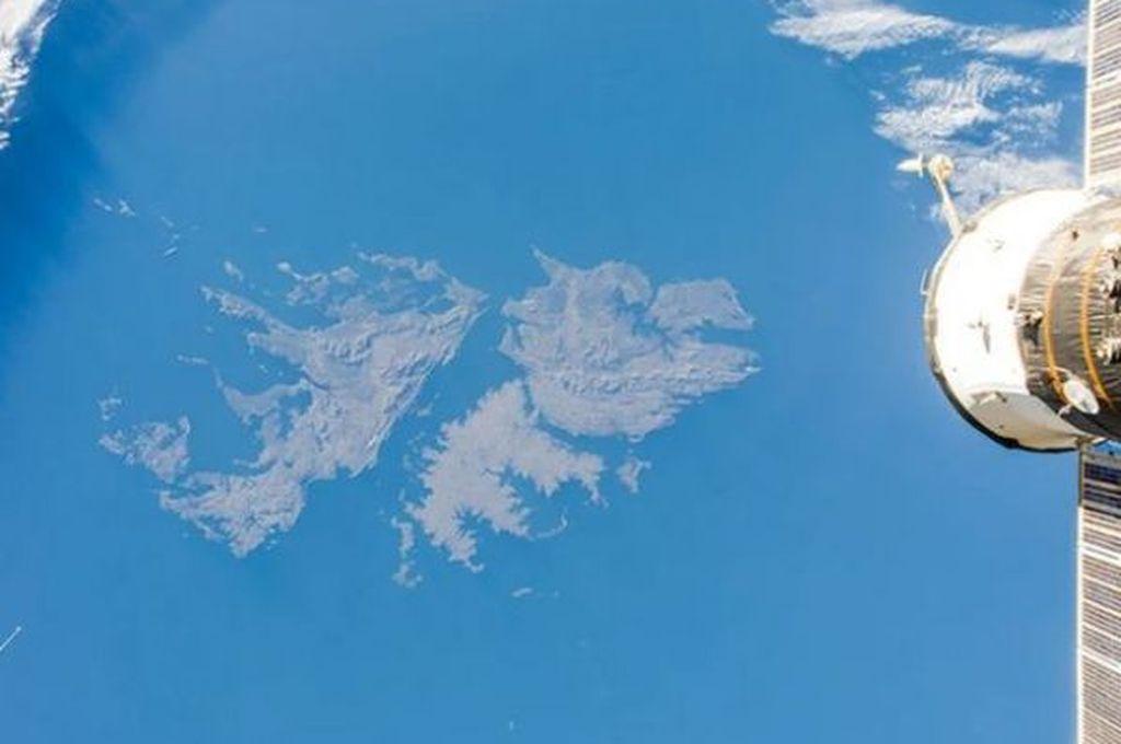 Imagen tomada desde la Estación Espacial Internacional el 27 de mayo de 2014 Crédito: Oleg Artemyev