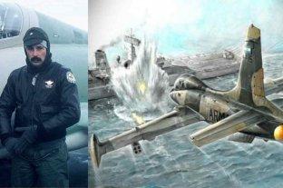 """""""Piloto argentino contra toda la flota británica"""""""