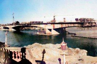 Puente Oroño: imágenes  históricas de su construcción