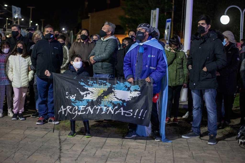 Resistencia acompañó la vigilia para honrar a veteranos y caídos en Malvinas