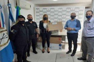Calvo se reunió con áreas de seguridad y Protección Civil del departamento Castellanos