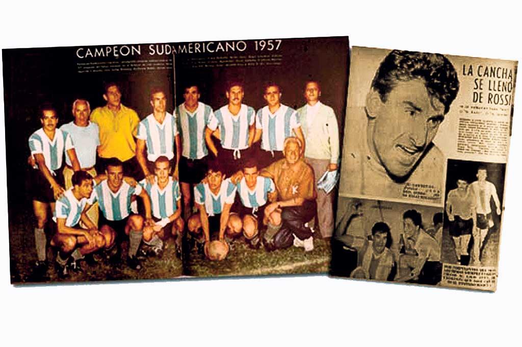 Aquél Sudamericano de Lima fue un hito trascendente para el fútbol argentino. El equipo de Guillermo Stábile apabulló a todos, especialmente a Uruguay, que era el campeón y a Brasil, que al año siguiente obtendría el Mundial de Suecia. Crédito: Gentileza El Gráfico