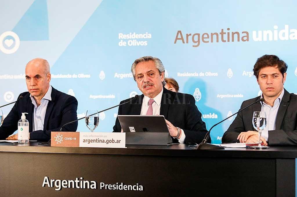 Aumento de casos: Alberto Fernández y Rodríguez Larreta aún no tomarán medidas