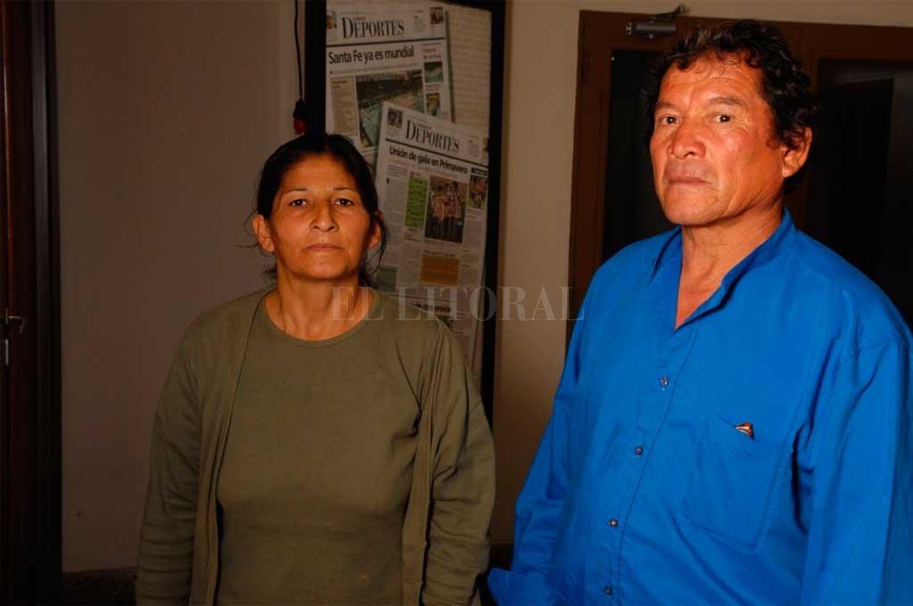 Ramona Contreras y Juan Carlos Márquez, padres de Pablo, sostuvieron su reclamo de Justicia durante más de 18 años. Crédito: El Litoral