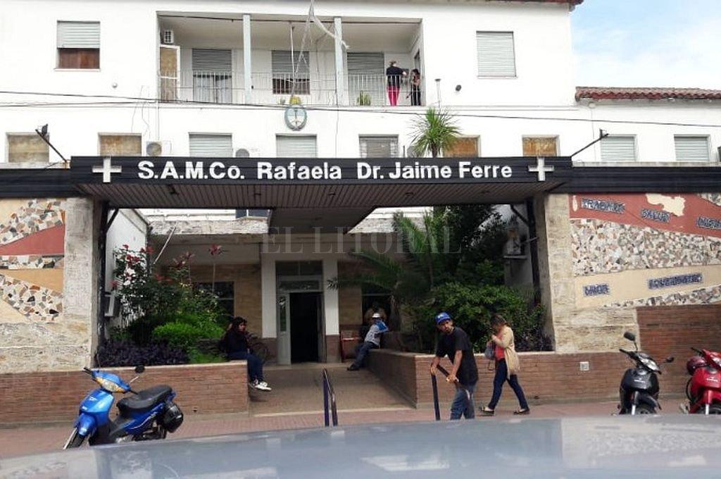 Hospital Jaime Ferré de Rafaela. Crédito: Captura digital