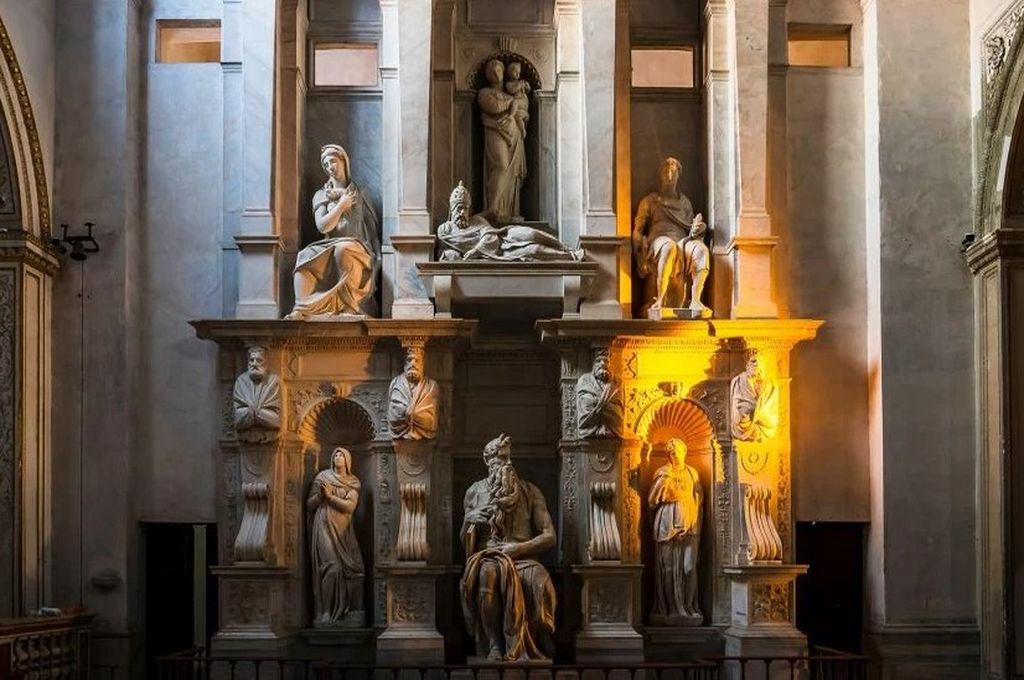 Moisés de Miguel Ángel  - Basílica de San Pietro in Vincoli  Crédito: Ministerio de Cultura de Italia