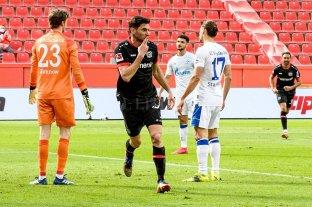 Ganó el Leverkusen y Lucas Alario volvió a marcar luego de dos meses