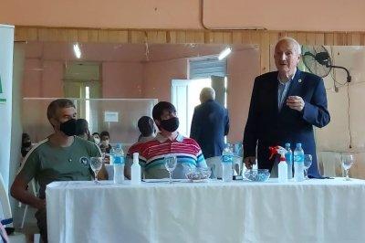 Kaufmann destacó la llegada de fondos provinciales a la Costa
