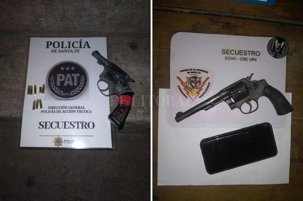 La gran mayoría de las armas estuvieron involucradas en amenazas y una de ellas en un robo en la vía pública.  Crédito: El Litoral