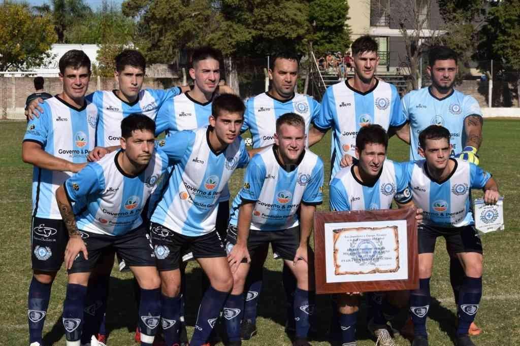 Club Tiro Federal de Felicia, equipo que debutó oficialmente en la Liga Esperancina. Crédito: Gentileza Prensa Liga Esperancina