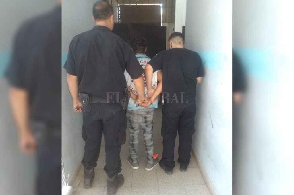 Tras el incidente el detenido fue trasladado a otra dependencia policial.    Crédito: El Litoral