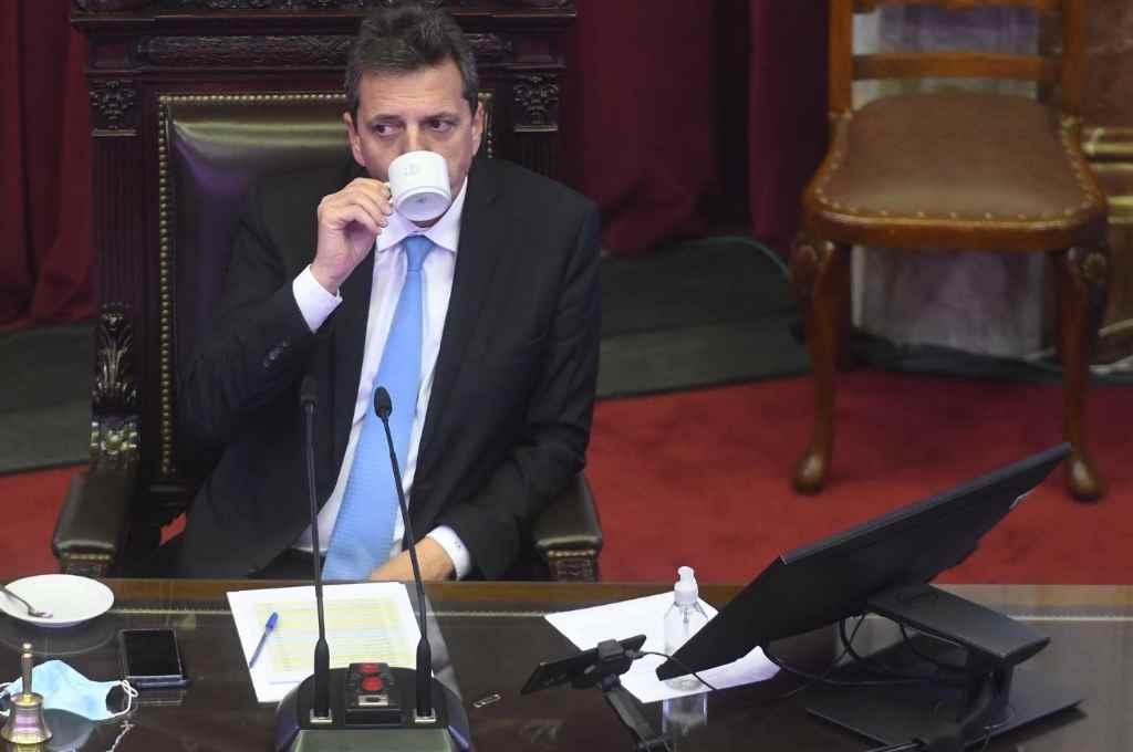 Sergio Massa plantea suspender las primarias por la pandemia. Diferencias con el kirchnerismo, que pide la postergación.    Crédito: Archivo