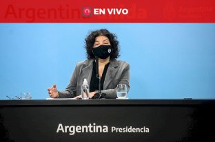 Carla Vizzotti expone en Diputados