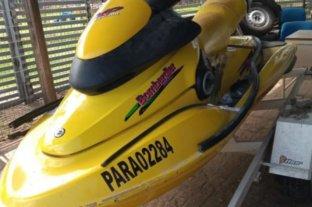 Encontraron más de seis millones de pesos ocultos en una moto de agua en Corrientes