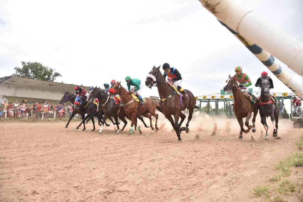 Las Flores tendrá nueve carreras este domingo. Crédito: Manuel Fabatía
