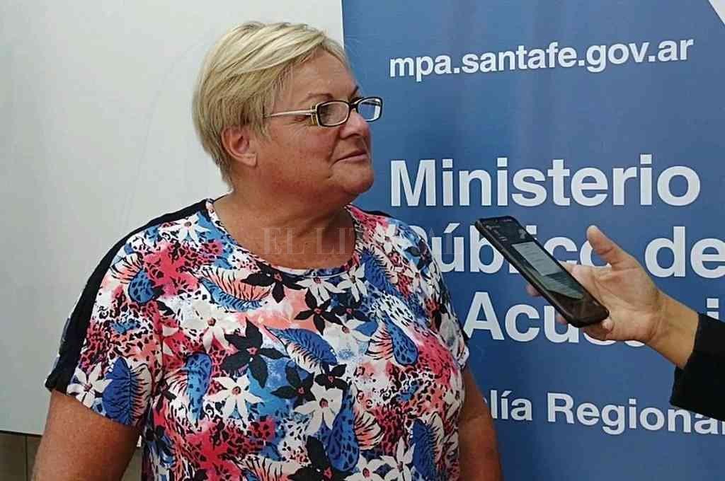 La fiscal Favia Burella insistió en la necesidad de