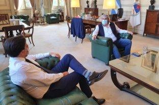 Sergio Romero se reunió con Nicolás Trotta