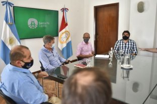 Jatón se reunió con representantes del sector gastronómico