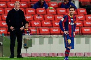 """Koeman: """"Necesitamos al mejor Messi"""""""
