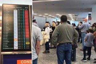 Aerolíneas Argentinas realiza un paro y hay demoras en Aeroparque
