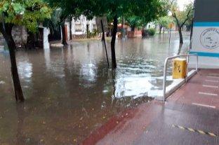 Lluvia y complicaciones en la ciudad de Santa Fe