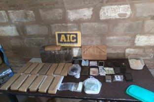Siete detenidos en múltiples allanamientos por drogas con epicentro en Villa Ocampo