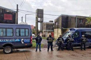 Allanamientos por drogas en el sur santafesino: 16 imputados y secuestro de armas