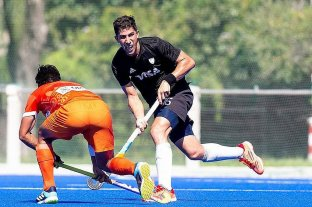 Los Leones enfrentan a India por la Pro League de hockey sobre césped