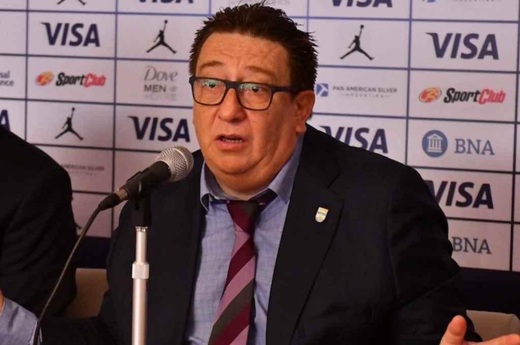 Fabián Borro, el presidente de la CABB. Crédito: Gentileza