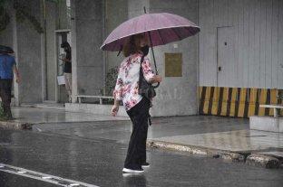 Segundo día de lluvia en la ciudad de Santa Fe -  -