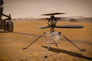El helicóptero Ingenuity, listo para su histórica hazaña en Marte