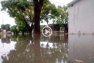 Lluvias en Santa Fe: más de 200 mm en dos días y complicaciones -