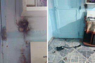 Cayó un rayo en barrio Los Troncos y quemó artefactos en toda la cuadra