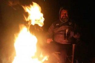 Viral: tomaban vino junto al fuego y se les apareció el Diablo -