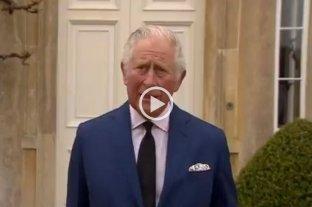 Carlos de Gales homenajeó a su padre, Felipe de Edimburgo, en nombre de la Familia Real británica