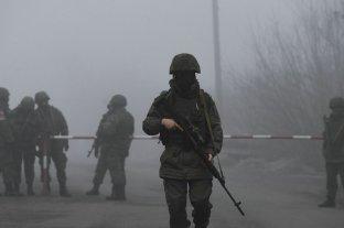 """Kremlin: """"Nadie pretende avanzar hacia una guerra en Ucrania"""""""