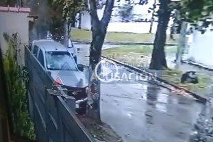 Video: el momento en que el joven rosarino atropelló y mató a dos ladrones -