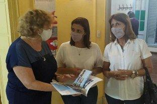 Betina Florito y Ana Cattena visitaron Proyecto 3