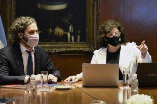 """Cafiero y Vizzotti tendrán este lunes una reunión con expertos para """"analizar la situación epidemiológica"""""""