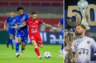Un santafesino campeón en la Copa del Golfo Árabe con el Shabab Al Ahli
