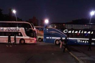 Rosario: la Terminal de Ómnibus Mariano Moreno también fue bloqueada