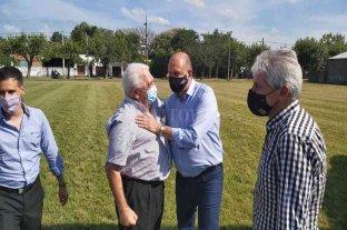 Sosa acompaño al gobernador en su visita por Vera y la región
