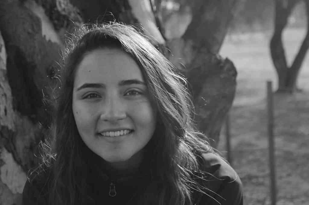 María del Valle González López, la joven militante de la UCR que murió en Mendoza. Crédito: Gentileza