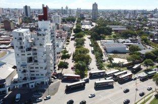 Desde el drone de El Litoral: así se ve el bloqueo de transportistas en Santa Fe