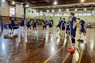 Voley: el seleccionado de varones comenzó con los trabajos en el Cenard - El equipo albiceleste trabajará en horario matutino en el predio deportivo del barrio de Núñez, durante toda la semana.