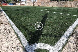 Video: harta de los robos, la dueña de un Fútbol 5 emboscó a dos ladrones en barrio Barranquitas - El complejo se encuentra emplazado en Cándido Pujato al 3700, detrás de la cancha de Unión.
