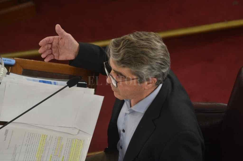 El 18 de diciembre de 2020 solo cuatro senadores respaldaron el pedido del MPA para quitarle inmunidades al representante por San Lorenzo.    Crédito: Archivo El Litoral