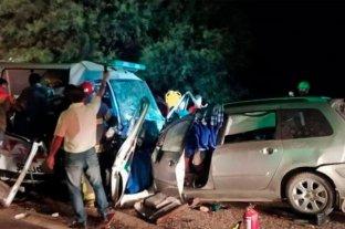 Trágico choque entre un auto y una ambulancia: hay seis muertos -