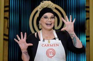 Carmen Barbieri hizo su debut en Masterchef Celebrity