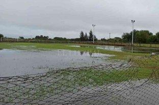 Las copiosas lluvias obligaron a suspender el fútbol en el norte